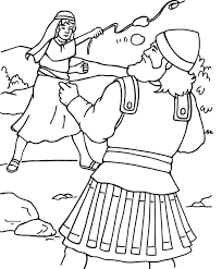 Small Picture To Download David And Goliath Coloring Page 52 On Free Coloring