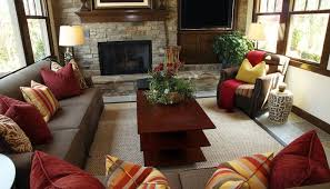 Brown And Red Living Room Ideas Interesting Inspiration