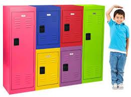 metal storage lockers. kids storage lockers \u2013 single tier metal locker by sandusky lee