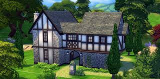 Small Picture How to Build a Tudor House in The Sims 4 Sims Online