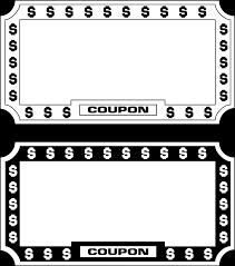 clipart coupon template clipartfest coupon clip art clip art