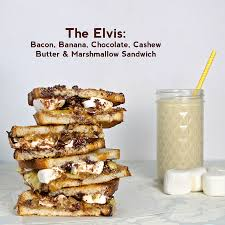 Have a look at The Elvis Bacon Banana Chocolate Cashew Butter.