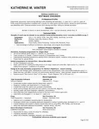Academic Resume Sample 60 Resume format In Word Best of Resume Example 36