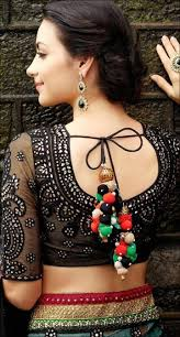 Saree Blouse Designs Front And Back 2017 Blouse Back Neck Designs Top 54 Trendy Designs