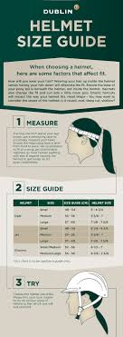 Helmet Size Guide Find The Right Fit With Dublin Clothing