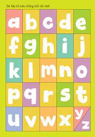 Bé Tập Tô - Bé Học Chữ - Chữ Cái Tiếng Anh Abc - Tô màu - Luyện chữ Tác giả  Runkids
