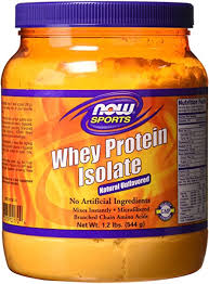 Now Foods, <b>Whey Protein Isolate</b>, Natural Unflavored, 1.2 lbs ...