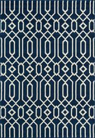 momeni rugs baja0baj 3nvy2346 baja collection contemporary indoor outdoor area rug easy to clean uv protected fade resistant 2 3 x 4 6 navy blue