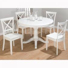 Furniture Shabby Chic Table And Chairs Ebay Round White