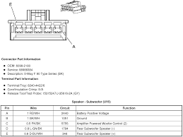 wiring diagram or schematic for an 2008 sts v bose system on the sub amp
