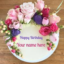 Birthday Cake Pic With Name Gallery