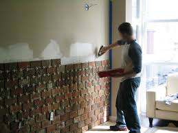 Installing an Interior Brick Wall (aka: The 'warehouse' effect) | Interior  brick walls, Diy design and Bricks