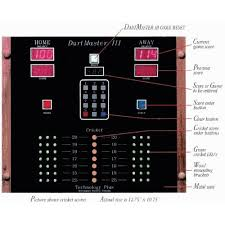 electronic dart scoreboard electronics forum circuits it s going to be the same as this but bigger leds and bigger lcd screens for the top scores i would like for the red button on the keypad to be