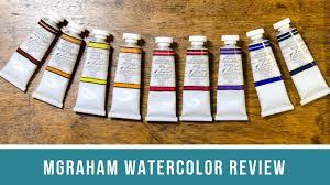 M Graham Color Chart M Graham Watercolor Review