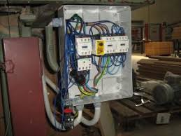 my job retrofit star delta motor automation on band saw i connected the 3 wires one for mains and 2 for the