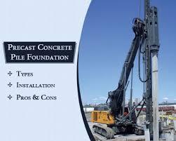 Precast Concrete Piles: Basic Info | Types | Advantages & Disadvantages
