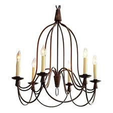 william sonoma 6 light french country chandelier retail
