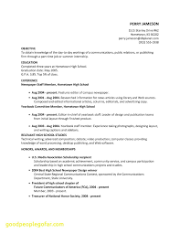 Luxury How To Make A High School Resume Business Document