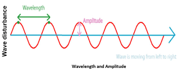 ncert cbse notes for class 9 science physics chapter 12 sound Diagram Of Human Ear For Class 8 sound waveof amplitude waelenth diagram of human ear for class 8