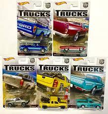 Hot Wheels Car Culture Trucks Bundle Set of 5