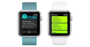apple fitness watch. making the apple watch work for wheelchair users is a feat of engineering fitness n