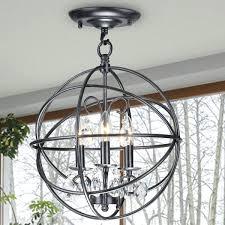rustic metal chandeliers 3 light antique bronze metal globe crystal flush mount chandelier ping rustic metal rustic metal chandeliers