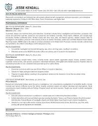 Free Resume Templates Microsoft Office Mesmerizing Police Officer Resume Template Top Rated Police Officer Resume