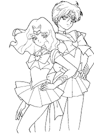 Small Picture Animations A 2 Z Coloring pages of Sailor moon