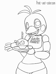 Inspirational Fnaf Coloring Pages Free At Getcolorings Com Free