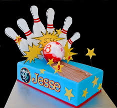 Bowling Pin Cake Decorations Ten Pin Bowling Cake CakeCentral 92