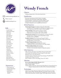 Resume In French Resume Wendy French 5