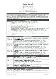 100 Resume Format For 1 Year Experience Dot Net Developer