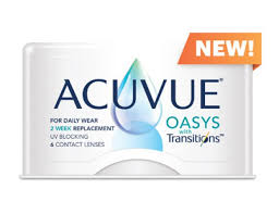 Acuvue Oasys With Transitions Light Intelligent Technology