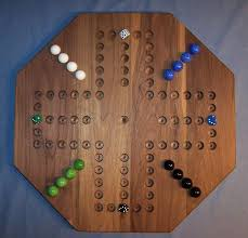 Wooden Marble Game Board Aggravation Wooden Marble Game Board Aggravation 100 Octagon Walnut 100100 Players Ma 8