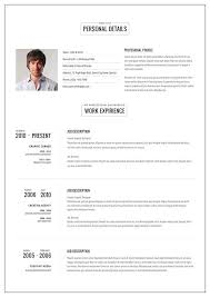 Resumes Templates Online 20 Intriguing Online Resume Templates Cv Template Resume