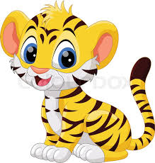 cute animated baby tigers. Delighful Baby Illustration Of Cute Baby Tiger Cartoon Sitting Isolated On White  Background  Stock Vector Colourbox And Cute Animated Baby Tigers D