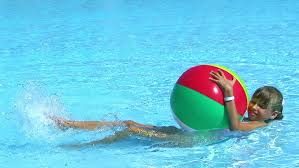 beach ball in pool. Visually Similar Footage Beach Ball In Pool