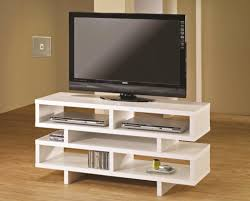 white wooden small tv stand with elegant laminate floor for perfect bedroom idease stands home design