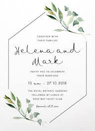 Wedding Invitatiins Garden Window Digital Printing Wedding Invitations