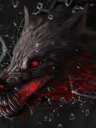 Free download Demon Wolf Fantasy Horror ...