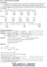 ГДЗ по математике класс Гельфман Холодная учебник Вычитание десятичных дробей