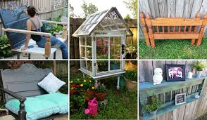 diy repurposed furniture. Awesome Old Furniture Repurposing Ideas For Your Yard And Garden Diy Repurposed Furniture H