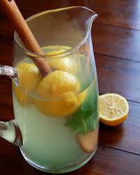 this lemon ginger and basil detox iced tea will leave you feeling refreshed hydrated