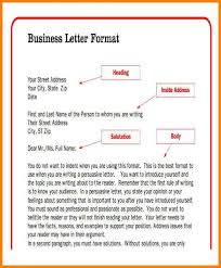 Setting Up A Business Letter How To Set Up Business Letter Scrumps
