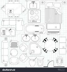 furniture floor plans. For Plans New Clip Art Home Floor Furniture Clipart Plan Symbols