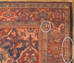 rug repair fixing a bad patch oriental rugs chicago area