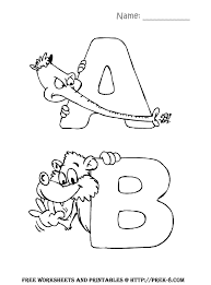 alphabetZoo_ab preschool worksheets, coloring pages, and lesson plans on free worksheets for kindergarten reading