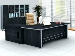 modern home desk black executive office furniture desktop wallpaper executive desks for home office i88