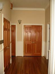 Interior Doors With Stained Wood Trim Photo White French W