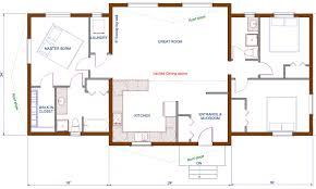 Fresh Modern Open Floor Plan For Kitchen And Dining 1727Open Floor Plan Townhouse